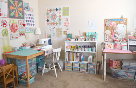 My New Mexico Sewing Room