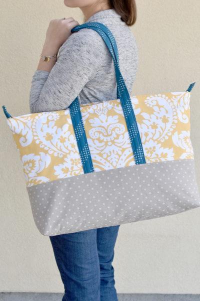 Jumbo Shopper :: Sew4Home Bags & Totes