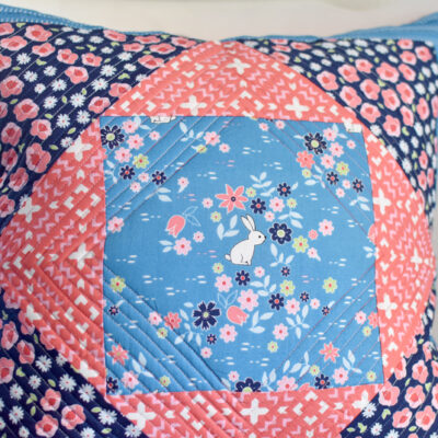 Giant Economy Block Pillow :: Free Pattern