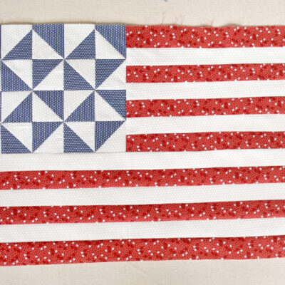 Free Pattern :: Star Spangled Mini